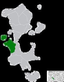 Location of Saridan
