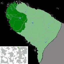 Location of Drania, DCCR