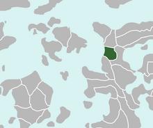 Location of Hulstria
