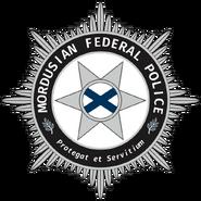 Mordusian Federal Police Logo