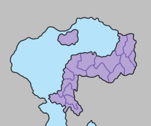 Location of Mina