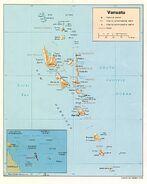 Mapa efate