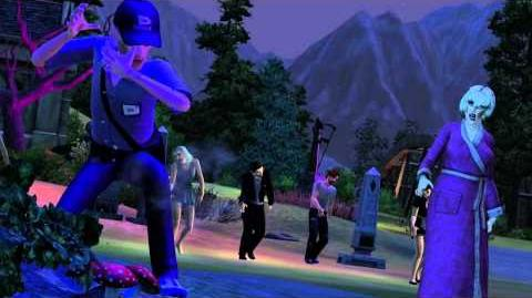 The Sims 3 Supernatural Expansion Pack - Official Announce Trailer
