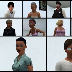 CAW Population: Populating Worlds in Create-a-World