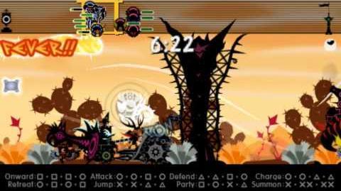 Patapon_3_Multi_All-out_Desert_Drag_Race