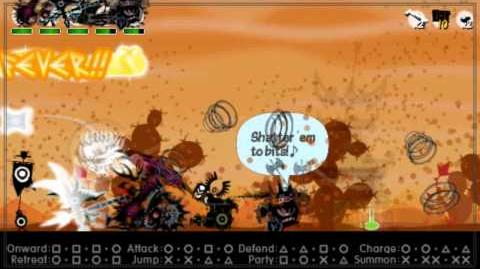Patapon_3_Walkthrough_pt_29_No_Heavenly_Bounty_on_a_Scorched_Desert