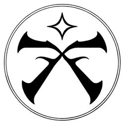 The symbol of the Pathfinder Society
