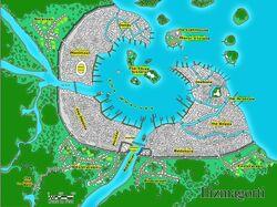 Map of Ilizmagorti