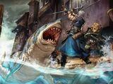 Jigsaw shark