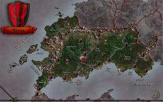 Карта Челии