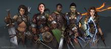 Pathfinder Kingmaker companions
