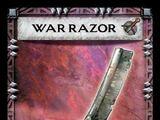 War razor
