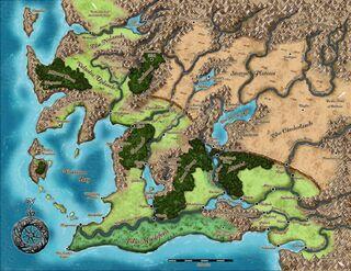 Карта Варисии