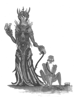 Denizen of Leng and slave