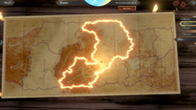 Kingdom claim area outline