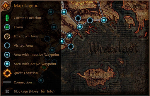 """Waypoint map for act 1"""