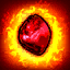 LifeRegenFireDamage (Chieftain) passive skill icon.png