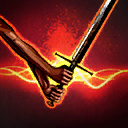 TwoHandedMeleeDamage passive skill icon.png