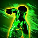 PhysicalDamageNotableGreen passive skill icon.png