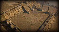 Battle-scarred Hideout area screenshot.jpg