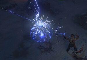 Lightning Arrow skill screenshot.jpg