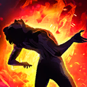 FireDamageOverTimeNotable passive skill icon.png