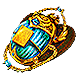Gilded Divination Scarab inventory icon.png