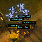 Blight Cyst weapons.png