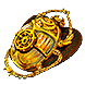 Gilded Perandus Scarab inventory icon.png