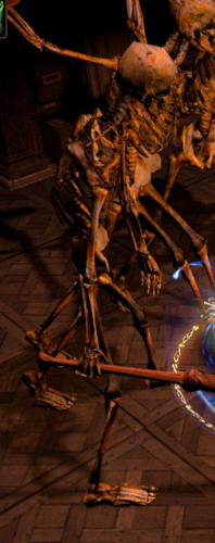 Огромный ходячий костяк