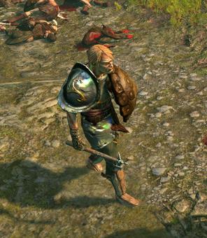 Калаф, Дробитель черепов
