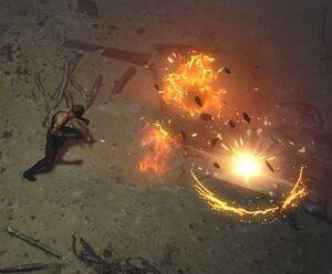 Взрывная ловушка skill screenshot.jpg