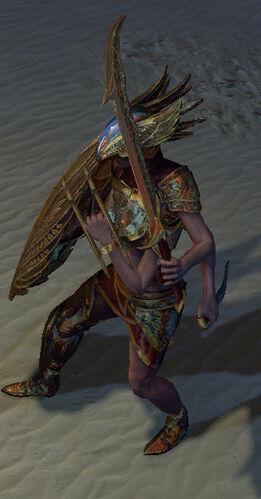 Гарухан, Царица ветров