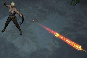 Горящая стрела skill screenshot.jpg