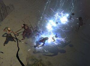 Стрела молнии skill screenshot.jpg