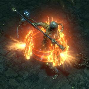Расплавленный панцирь skill screenshot.jpg