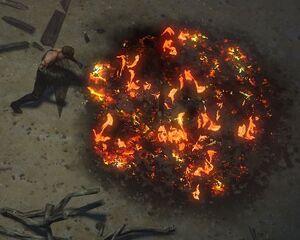 Огненная ловушка skill screenshot.jpg