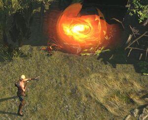 Взрывная стрела skill screenshot.jpg