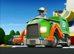 Rocky in his eco truck.png