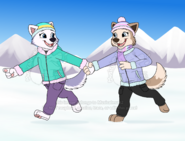 Anthro Tundra and Everest outfits
