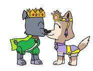 Emperor Rocky and Princess Tundra