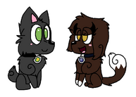 Commission chibi smoky and kailey by lunar lex-d93gbtp