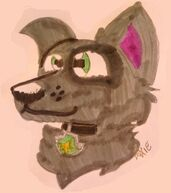 A pic drawn of Smoky!