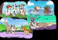 Paw patrol style doodles 2