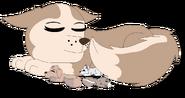 Gift tundra and newborn pups redrawn by raindroplily-d8jasyc