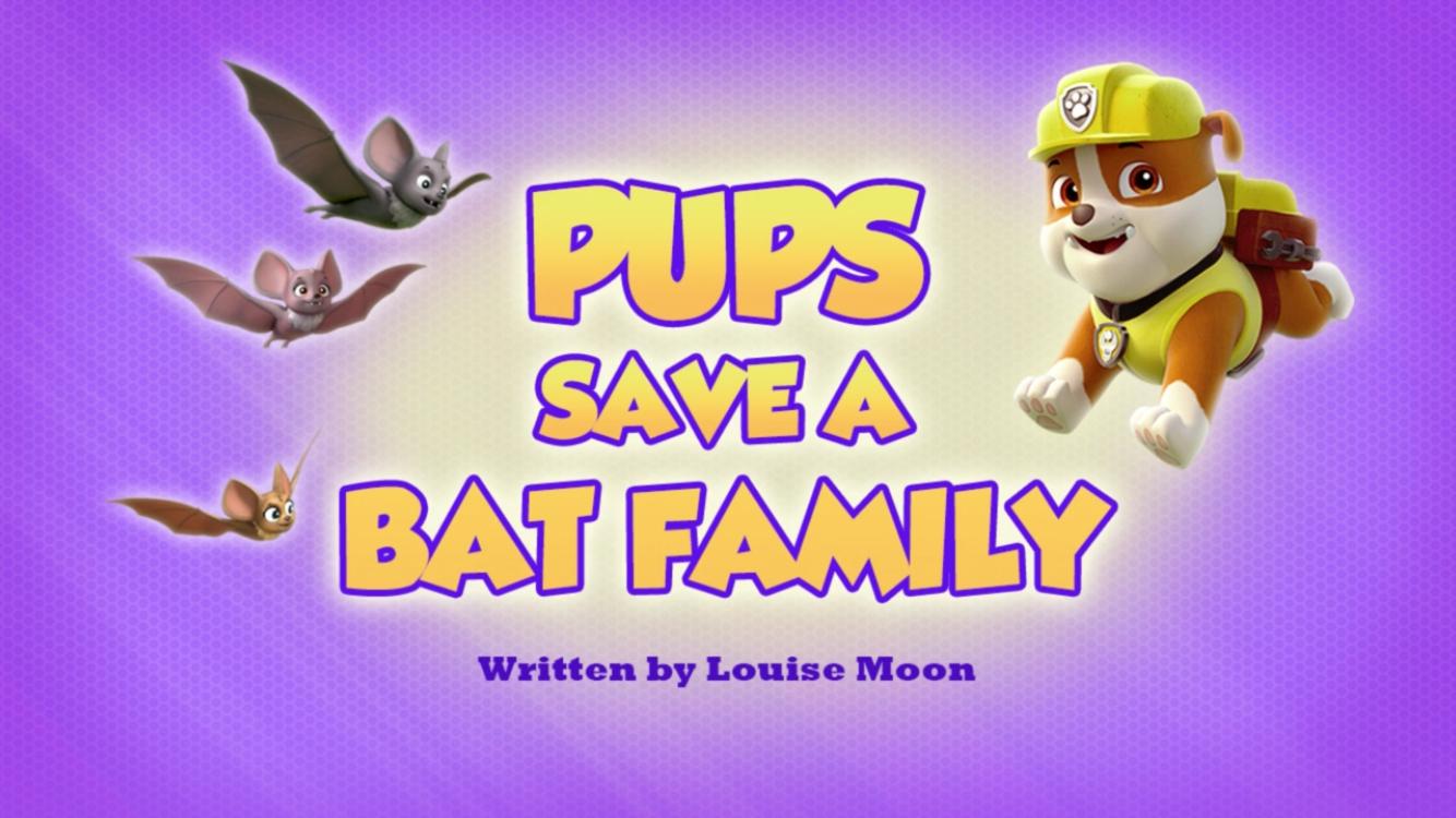 Pups Save a Bat Family