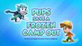 Pups Save a Frozen Camp-Out