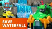 PAW Patrol Pups Save a Waterfall Toy Episode PAW Patrol Official & Friends