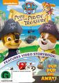 PAW Patrol Pups and the Pirate Treasure DVD New Zealand