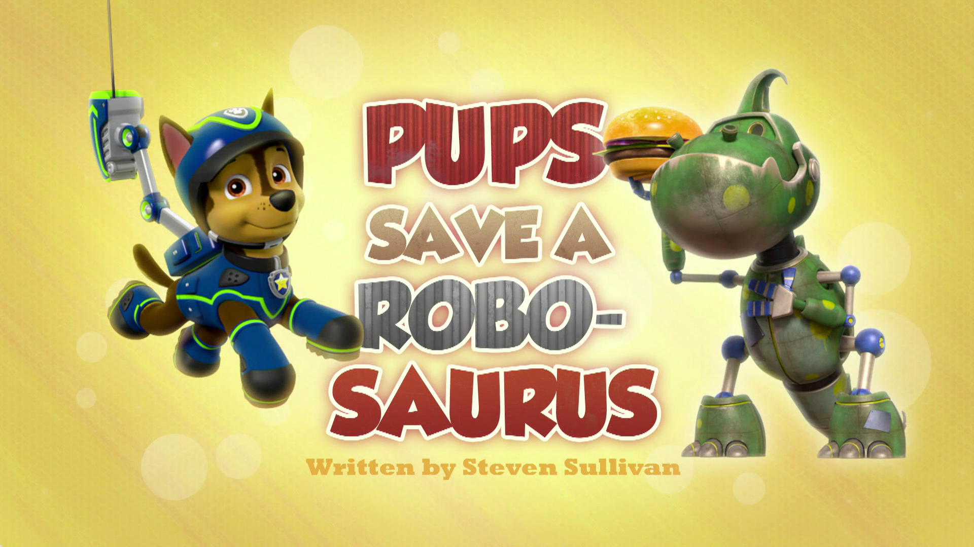 Pups Save a Robo-Saurus